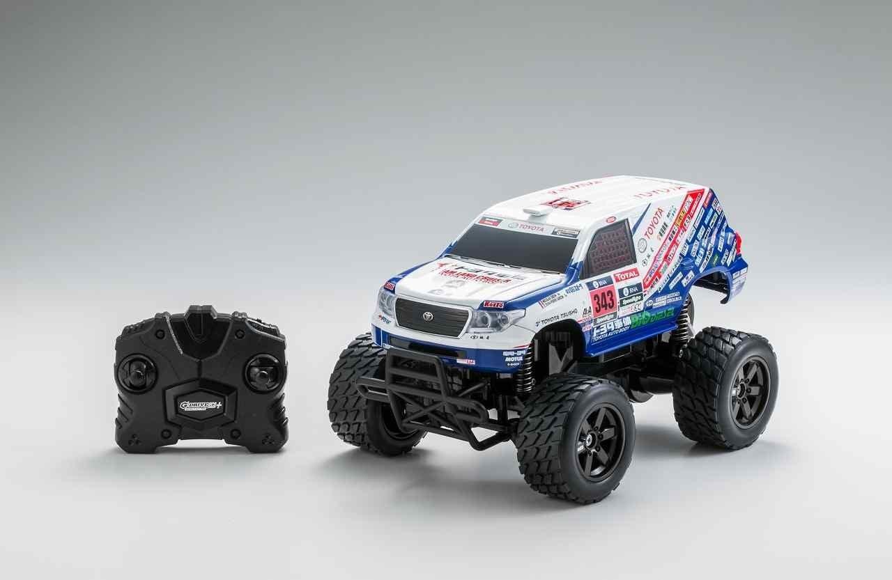 R / C G-Drive ECO Plus Toyota Land Cruiser 200 Dakar Rally 2016 Championship Vehicle