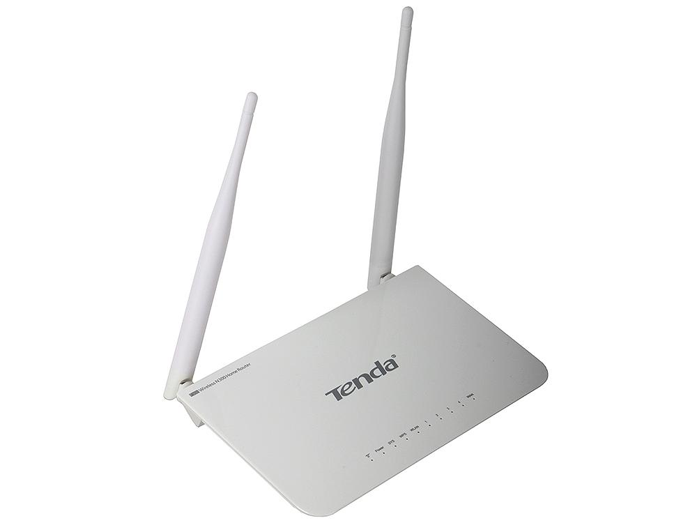 Tenda F300 Беспроводной маршрутизатор (300 Мбит/сек LAN 4*10/100)