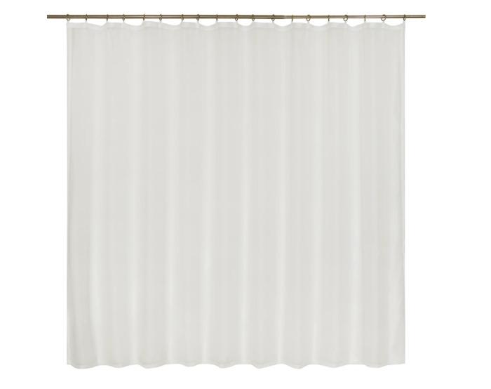 Тюль на ленте, 250х180 см, цвет белый-20747