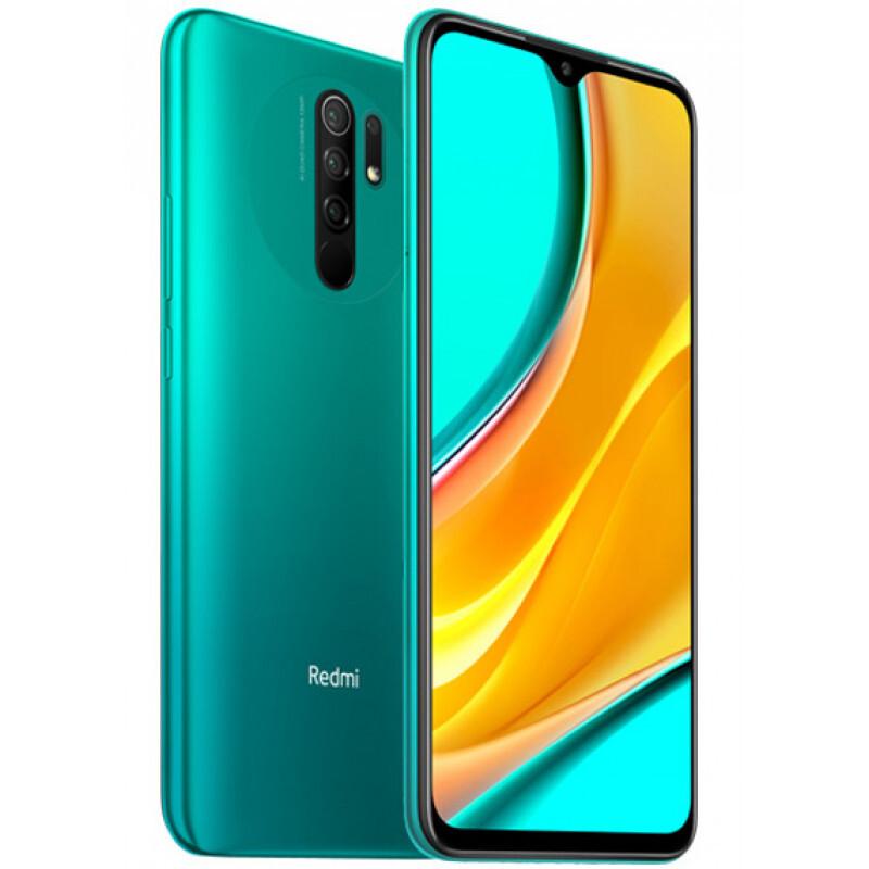 смартфон xiaomi redmi 9  3/32gb, океанический зеленый