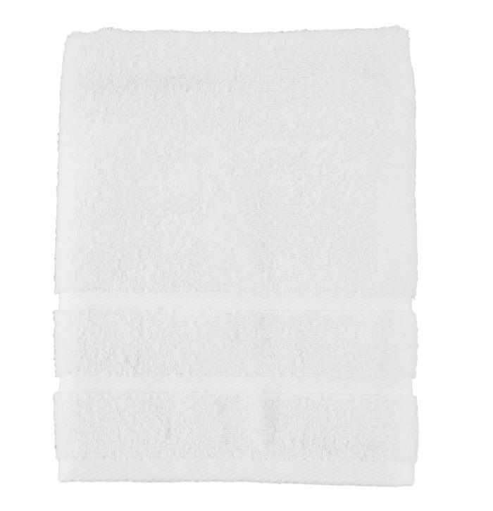 Полотенце махровое 70x130 см цвет белый-20212