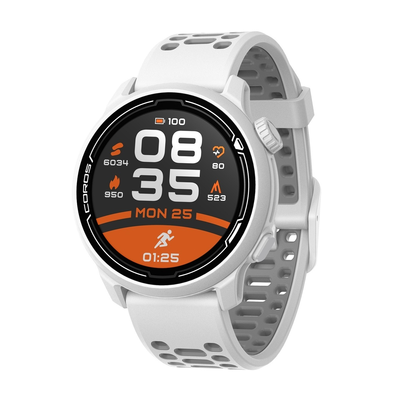 Спортивные часы COROS PACE 2, цвет белый