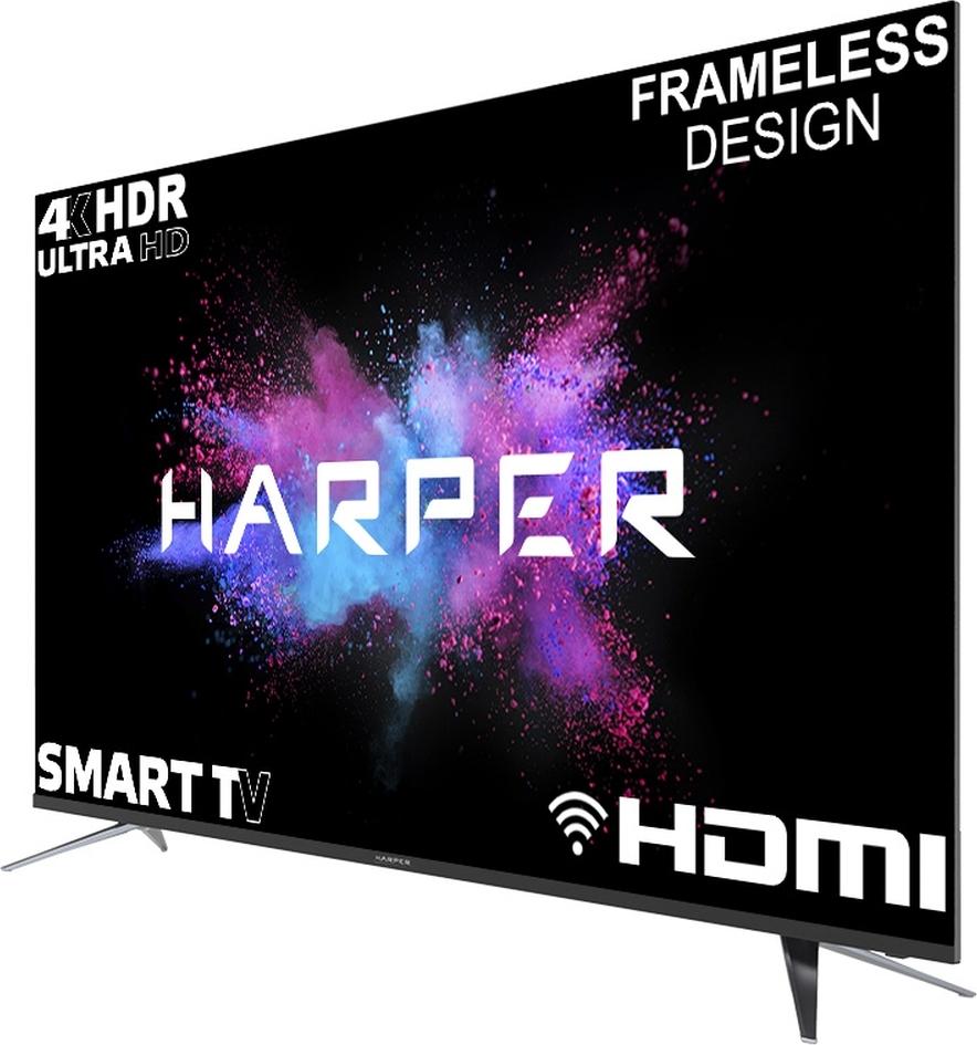 "4k uhd телевизор harper телевизор harper 65u750ts 65"""