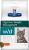 Сухой диетический корм для кошек Hill's Prescription Diet w/d Digestive при поддержании веса и при сахарном диабете, с курицей 5 кг - изображение
