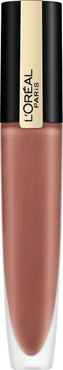 Тинт для губ L`Oreal Paris Rouge Signature жидкий, матовый, с металлическим эффектом, №201  #1