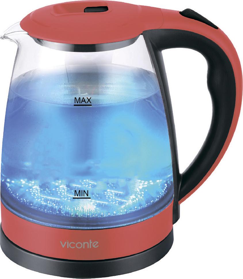 Электрический чайник Viconte VC-3242, черный #1