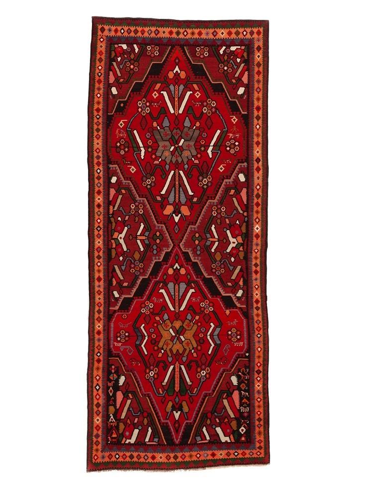 Ковер безворсовой Orazbai Collection Меру (армянская пчела), 4.10х1.85 м  #1