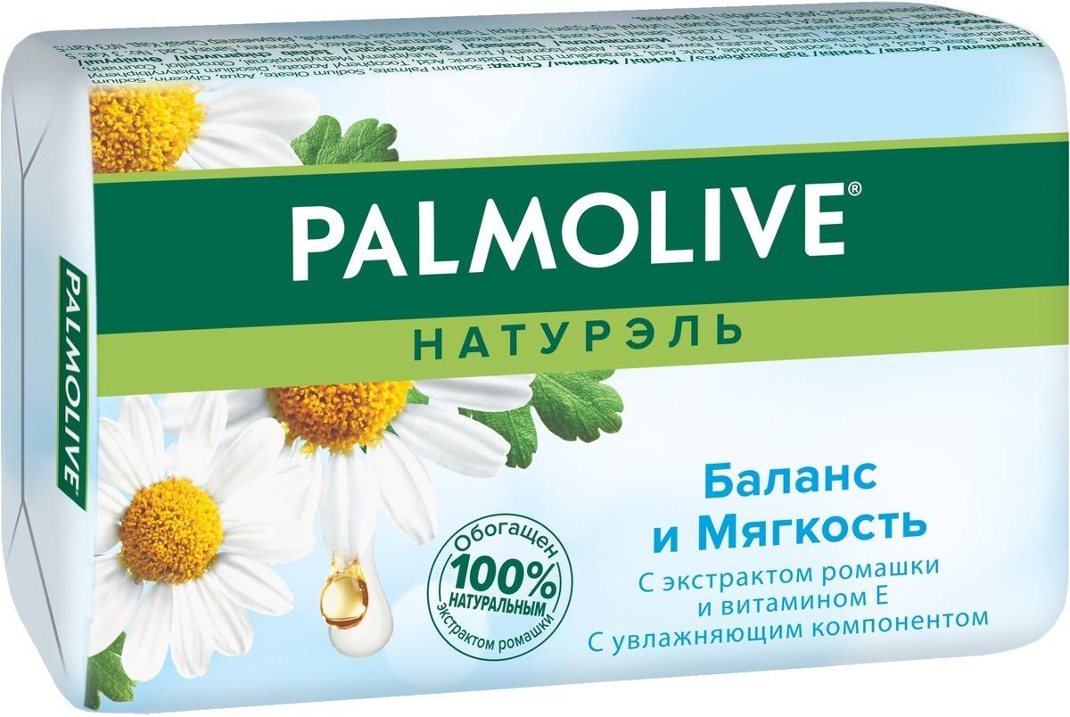"""Palmolive Мыло туалетное Натурэль """"Баланс и Мягкость"""", с экстрактом ромашки и витамином Е, 90 г  #1"""