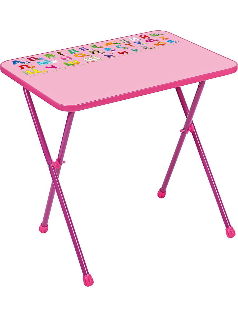 Стол детский складной, на столешнице можно рисовать маркером на водной основе, 3-7 лет  #1