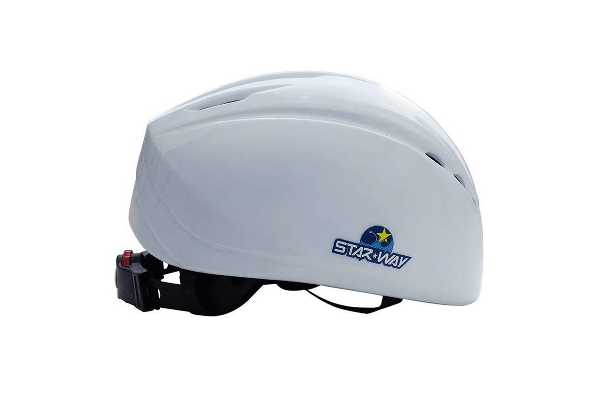 Шлем для льда Шорт трек Лонг трек массовое катание StarWay White  #1