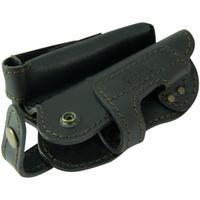 Кобура Tiger поясная Комби 3 для пистолета ПМ с дополнительным магазином ( обоймой ) кожаная черная