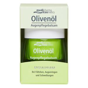 Medipharma cosmetics Olivenol бальзам-уход для кожи вокруг глаз, 15 мл. Вместе дешевле!