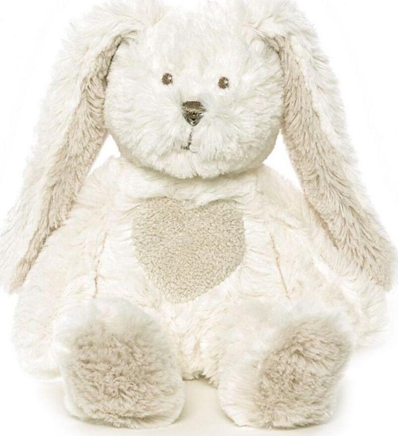 Мягкая игрушка Teddykompaniet Кролик, белый, 14 см