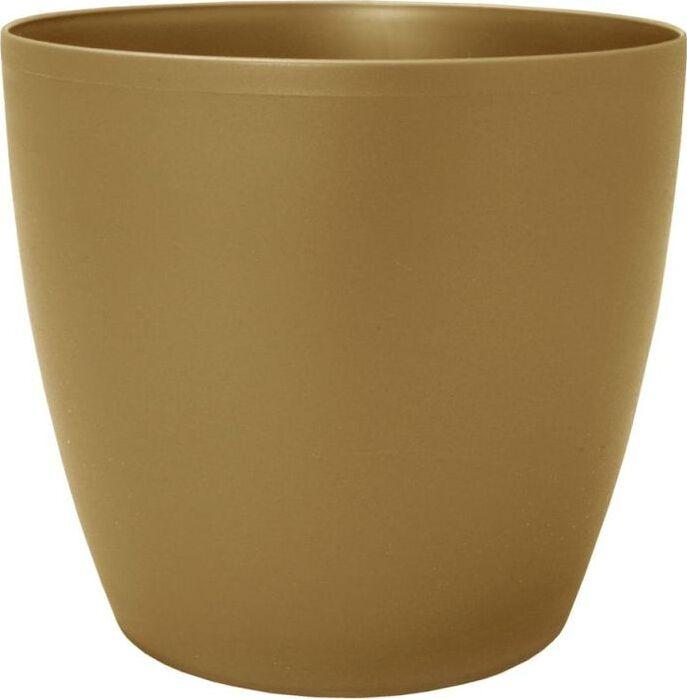 Горшок для цветов Lamela Magnolia, LA206-52, золотой металлик, 30 х 30 х 26,2 см Lamela
