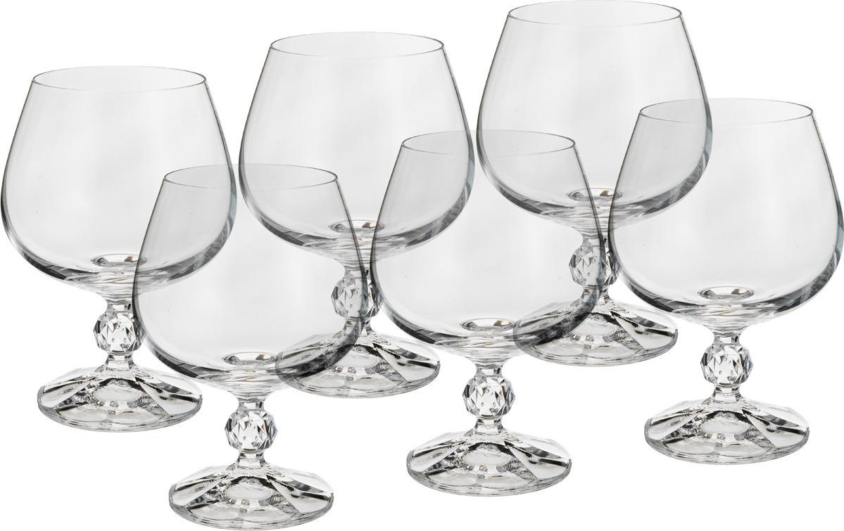 Набор бокалов для бренди Bohemia Crystal