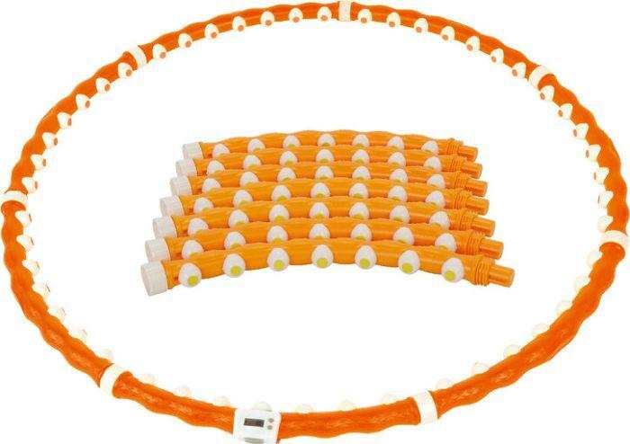 Обруч массажный Iron People IR97356, оранжевый
