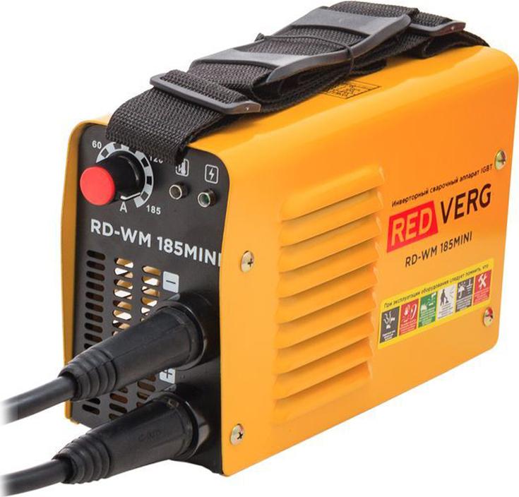 цена на Аппарат сварочный инверторный RedVerg RD-WM 185MINI