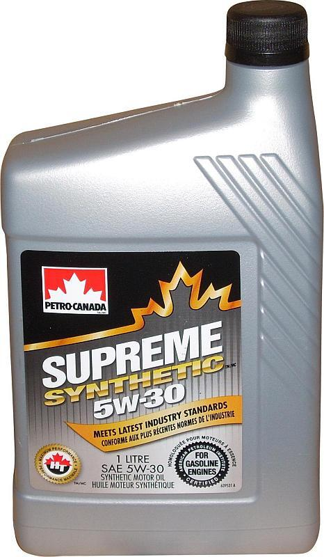 Моторное масло PETRO-CANADA PC SUPREME SYNTHETIC 5W-30 1 л
