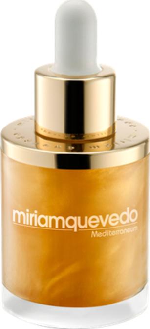 Масло для волос с золотом 24 карата Miriam Quevedo The Sublime Gold Oil 50 мл золотое масло для волос