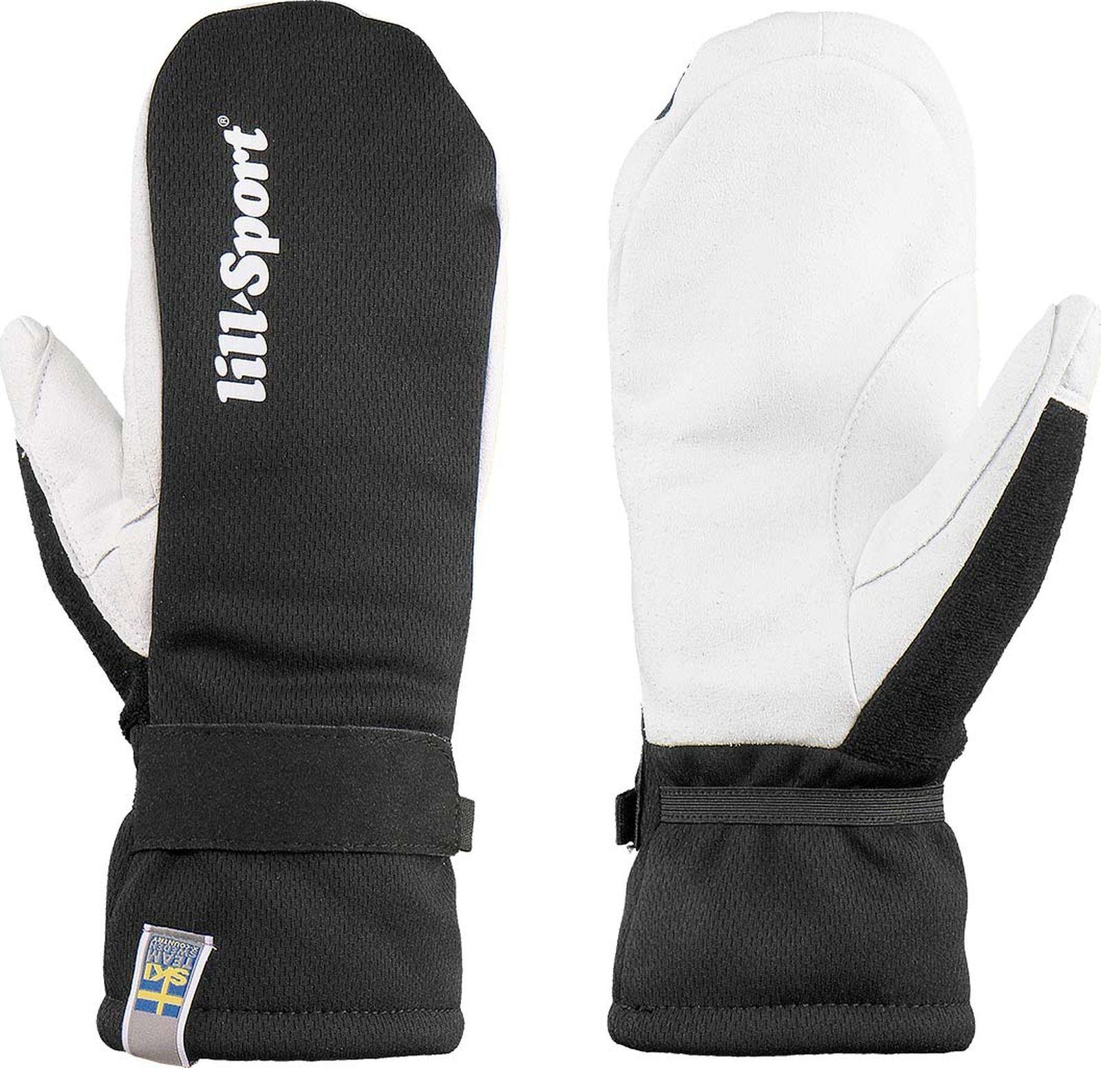 Перчатки лыжные Lillsport Mitt 1, 0116/00, черный, размер XL