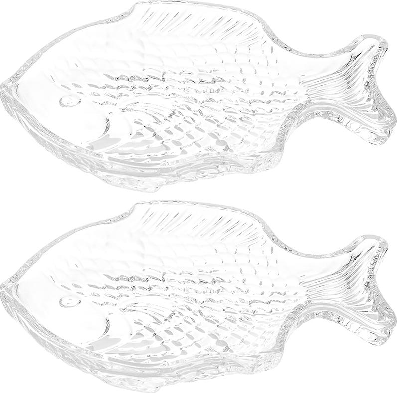 Блюдо 19,5х16х2 см, 250 мл, Elan Gallery Рыба (2 шт.)