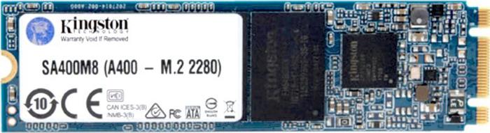 Твердотельный накопитель 120Gb SSD Kingston A400, SA400M8/120G твердотельный накопитель ssd 2 5 120gb kingston ssdnow a400 read 500mb s write 320mb s sataiii sa400s37 120g