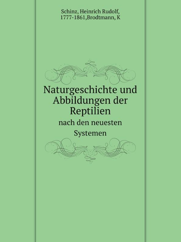 H.R. Schinz Naturgeschichte und Abbildungen der Reptilien. nach den neuesten Systemen k i brodtmann naturgeschichte und abbildungen der vogel nach den neuesten systemen bearbeitet