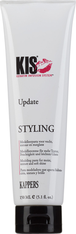 Матовая текстурирующая паста KIS Update для придания волосам объема и направления, 150 мл