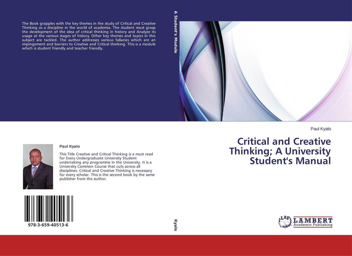 Paul Kyalo Critical and Creative Thinking; A University Student's Manual christian valentin soils as a key component of the critical zone 1 functions and services