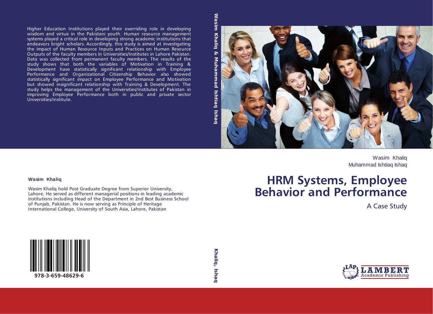 Wasim Khaliq and Muhammad Ishtiaq Ishaq HRM Systems, Employee Behavior and Performance muhammad altaf qureshi universalization of primary education in pakistan