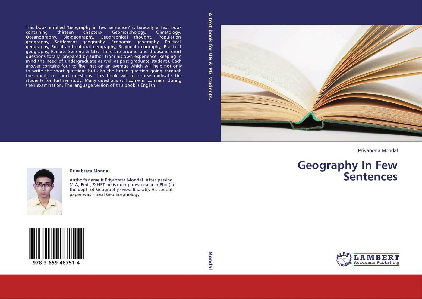 Priyabrata Mondal Geography In Few Sentences economic geography