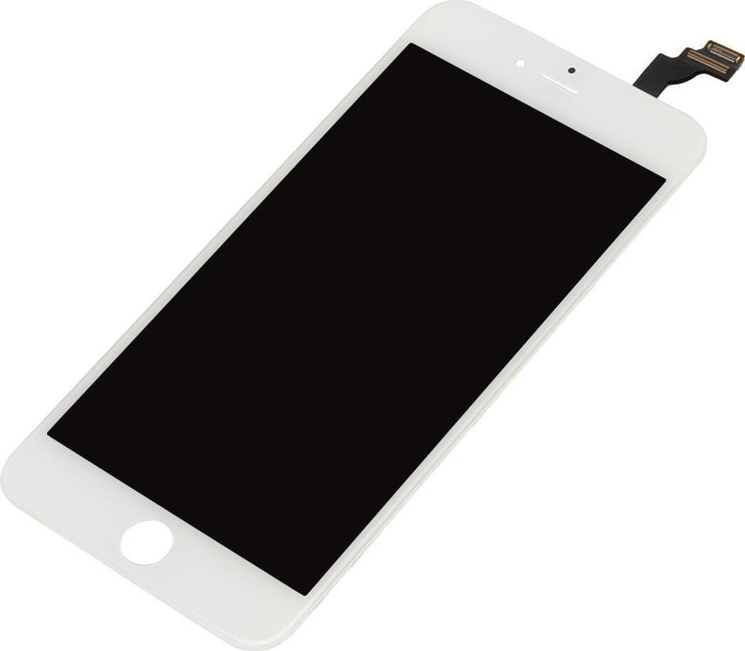 Дисплей для Apple iPhone 6s Plus + тачскрин белый с рамкой (Original LCD) дисплей rocknparts zip для iphone 6s white 468608