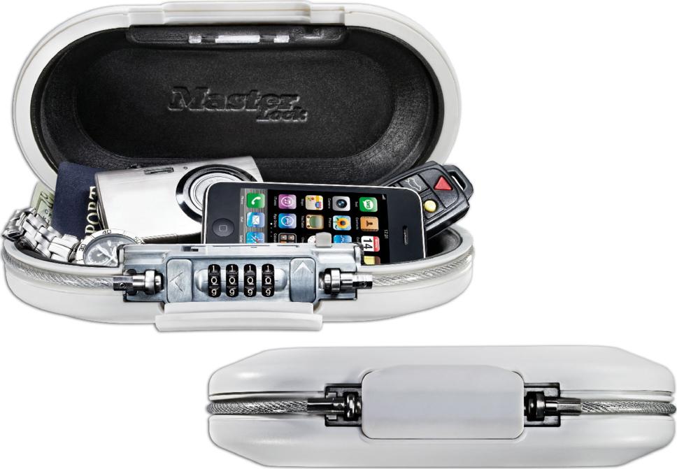 Мобильный сейф с кодовым замком и встроенным кабелем SAFE SPACE