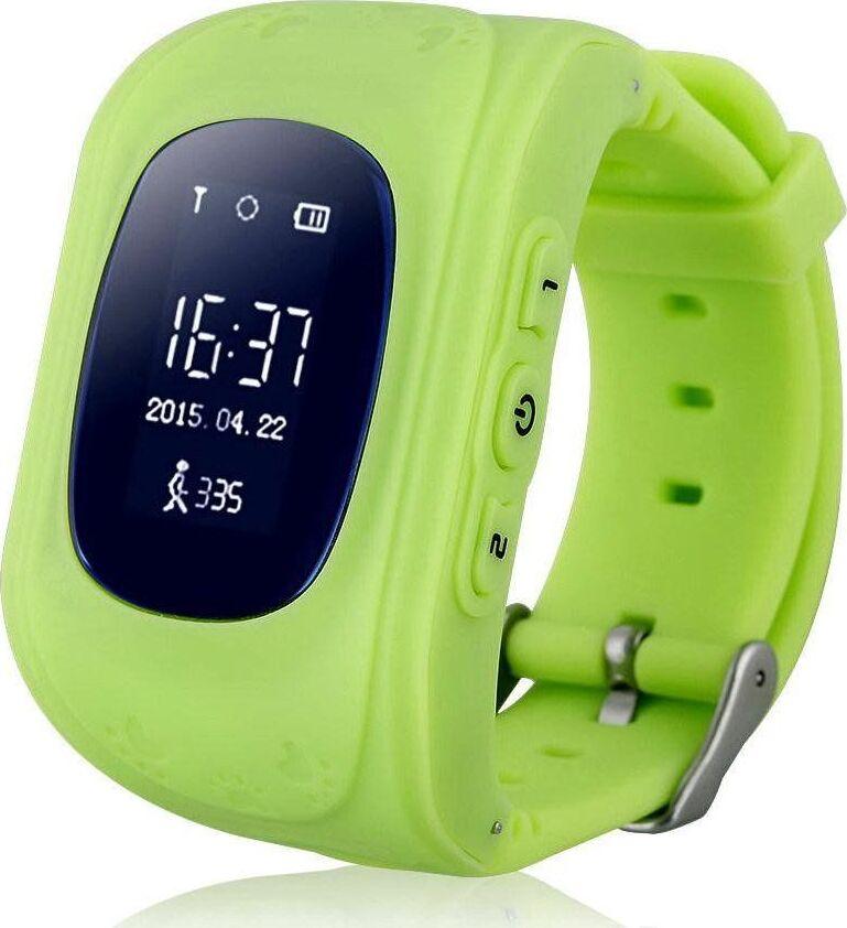 Детские умные часы телефон кнопочные с GPS Smart Baby Watch Q50, салатовый q100 q750 smart watch phone baby children kids gps tracker 1 54 touch screen wifi location sos anti lost device safe pk q50 q90