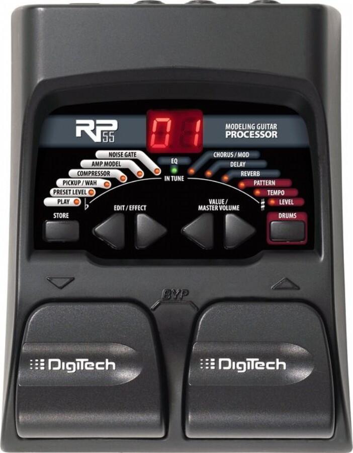 Digitech RP55 процессор эффектов