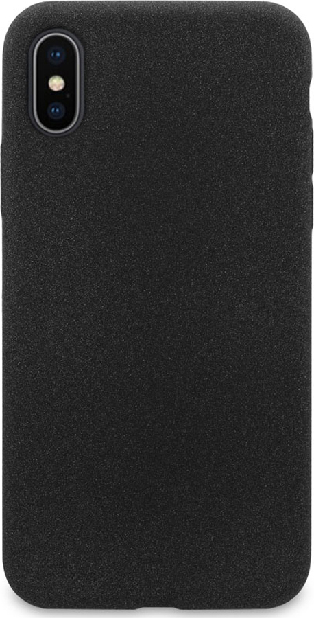 Чехол-накладка DYP Liquid Pebble для Apple iPhone X/XS черный