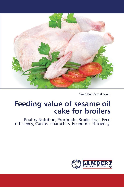 Feeding value of sesame oil cake for broilers