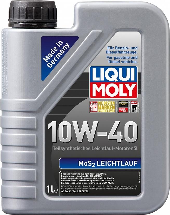 LIQUI MOLY Масло моторное MoS2 Leichtlauf 10W-40  1L