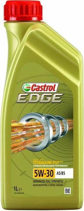 Моторное масло Castrol EDGE, синтетическое, 5w30 A5/B5, 1 л