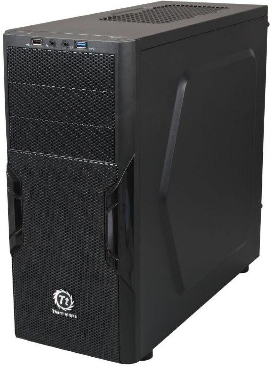 Корпус компьютерный Thermaltake Versa H22/Black/No Win/SECC, CA-1B3-00M1NN-00