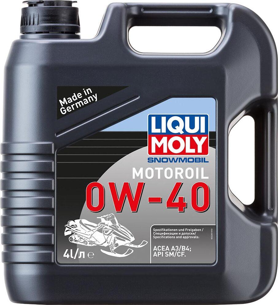 Моторное масло LIQUI MOLY Snowmobil Motoroil, синтетическое, 0W-40, 4 л 2261