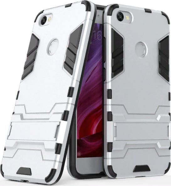 Чехол-бампер MyPads для Huawei Y5 Lite 2018 (DRA-LX5)  Huawei Enjoy 8E Lite (DRA-AL00) Honor 7S противоударный усиленный ударопрочный серый