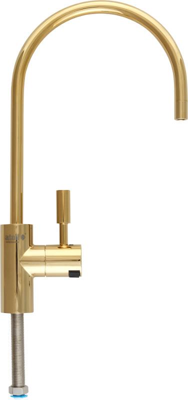 Кран для фильтра Atoll A-8883-BG (LED), золото