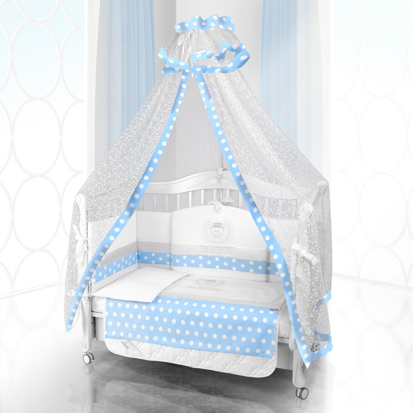 Комплект постельного белья Beatrice Bambini Unico Guseppe Ottaviani (125х65) - bianco& blu