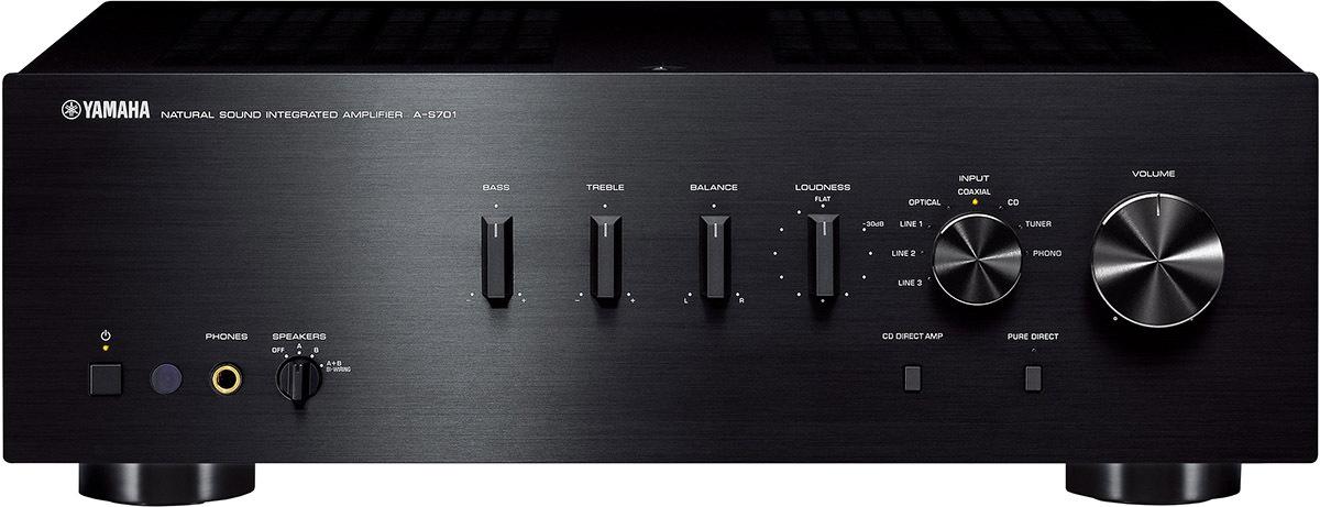 Интегральный усилитель Yamaha A-S701, черный