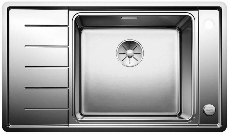Кухонная мойка Blanco ANDANO XL 6S-IF Compact нерж.сталь с зеркальной полировкой чаша справа