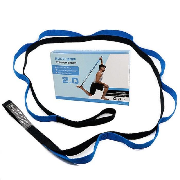 B31607 Эспандер эластичная лента 2,5*200 см в коробке (синяя)