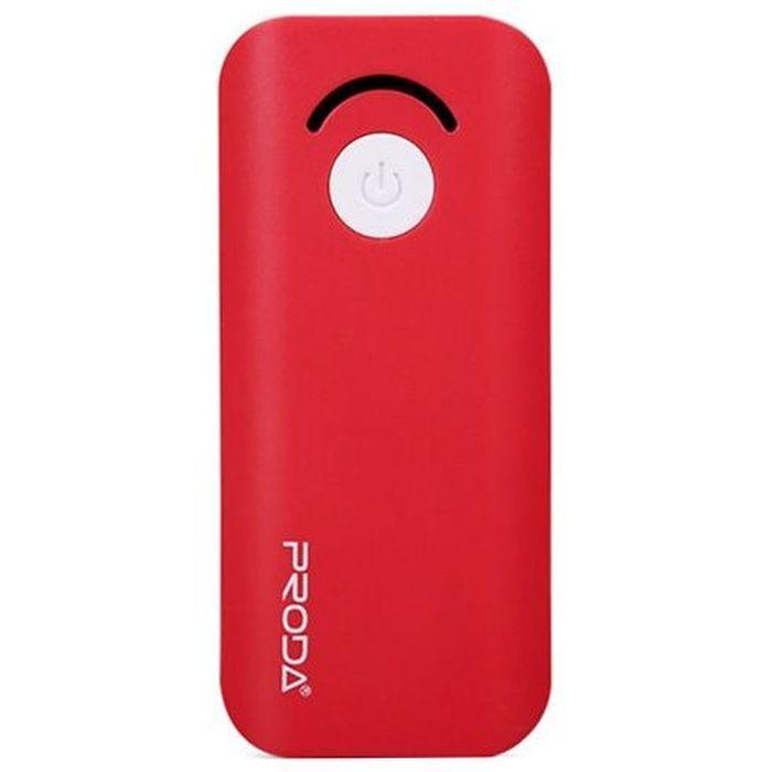 Внешний аккумулятор 6000мАч Remax Proda Jane PPL-8 - Красный