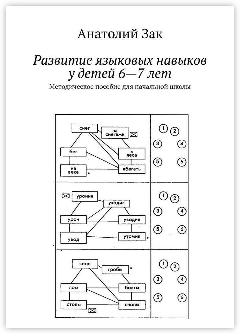 Анатолий Зак. Развитие языковых навыков у детей 6-7 лет