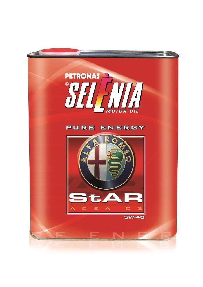 Моторное масло Petronas SELENIA STAR P. E. 5W-40 2л